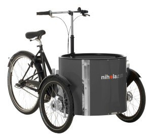 Low_cargo_bike_-_ladcykler_-_dark_grey